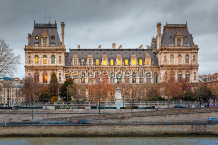 paris city hall hotel de ville