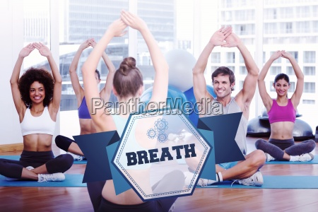 the word breath and people with