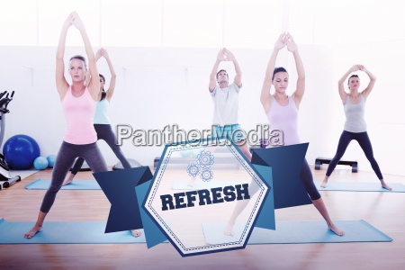 the word refresh and sporty class