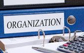 organization binder in the office