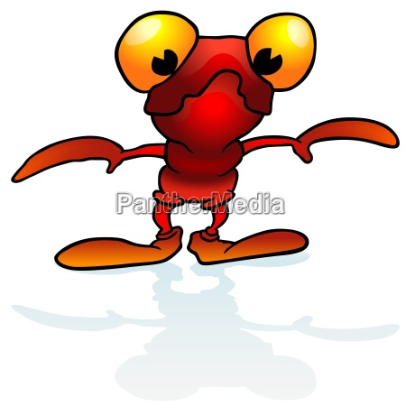 red alien