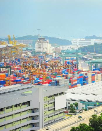 singapore industrial port storage