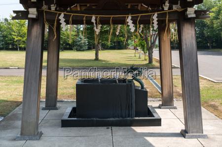 shinto temple scene