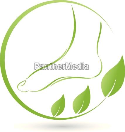fuss und blaetter logo fusspflege