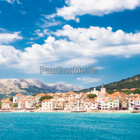 baska krk croatia europe
