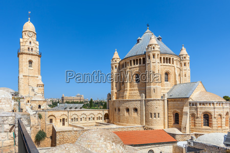 church of dormition in jerusalem