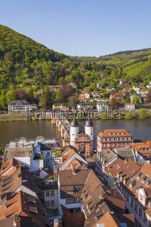 germany baden wuerttemberg heidelberg old town