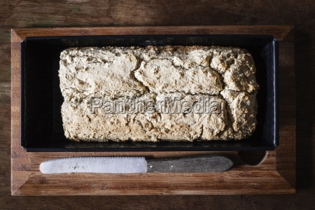 home baked wholemeal bread gluten free