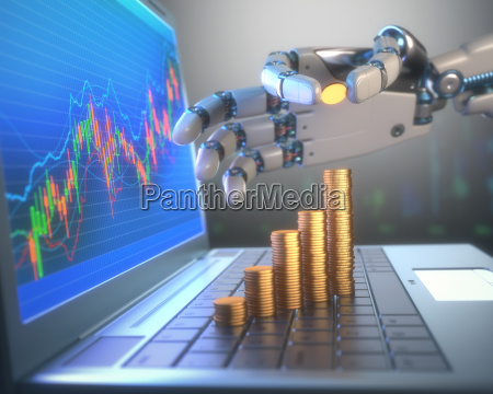 robot trading system on the stock