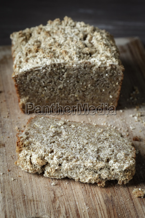 home baked glutenfree buckwheat bread on
