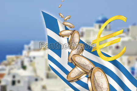 symbolic picture greece grexit banking crisis