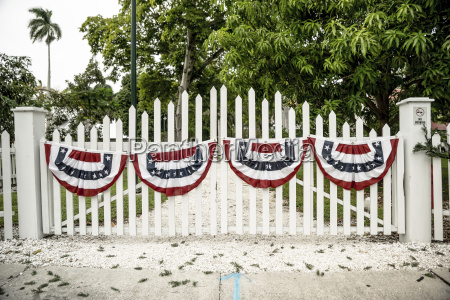usa florida fort myers gate with