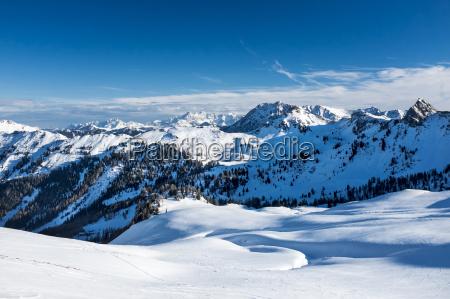 austria grossarl filzmooshoerndl winter landscape