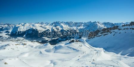 austria vorarlberg kleinwalser valley gottesacker plateau