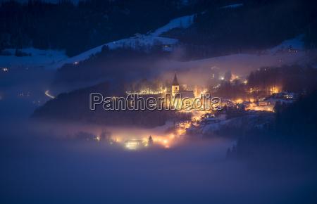 austria salzburg state bad duerrnberg at