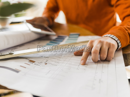 close up of man at desk