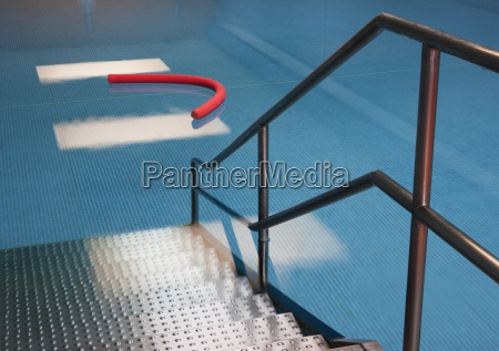 access to indoor swimming pool with