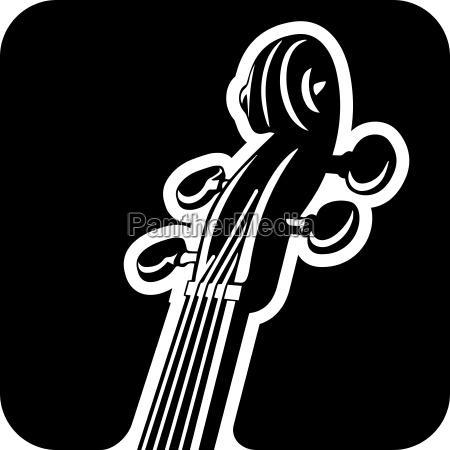 violin pegbox