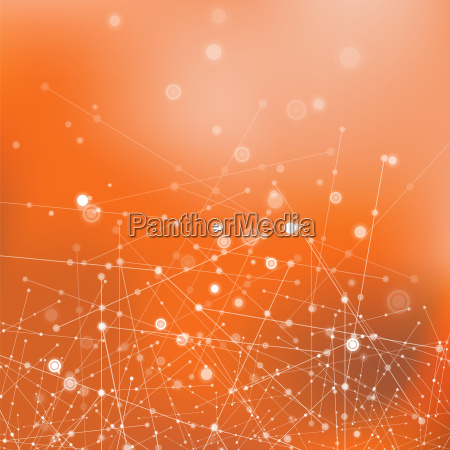 molecule structure communication concept