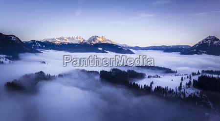 austria salzburg state dachstein massive view