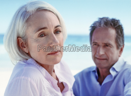 portrait of a middle aged couple