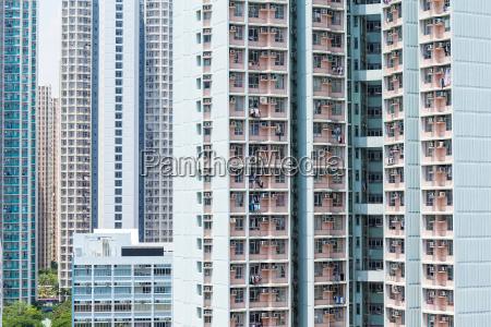 tall building facade