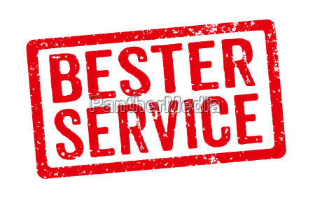 roter stempel bester service