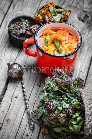 medicinal flower tea