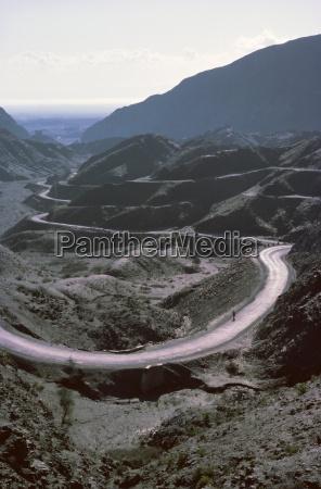 gewundene strassekhyber pass bereichnorth west frontier