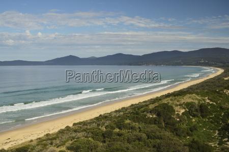 adventure bay bruny island tasmania australia