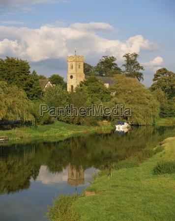 river avon bidford warwickshire england united