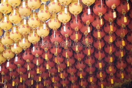 lanterns thean hou buddhist temple kuala