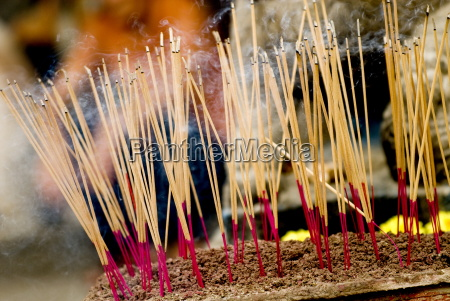 incense sticks chinese moon festival georgetown