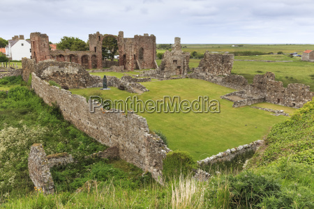 lindisfarne priory early christian site and