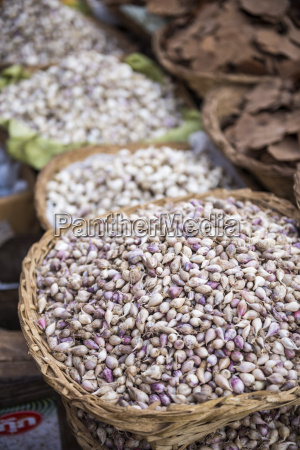 shallots in kalaw market shan state