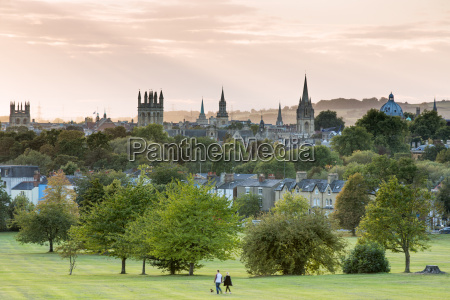 oxford from south park oxford oxfordshire