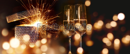 sparkling new year wishes
