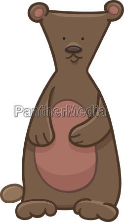 bear cartoon character