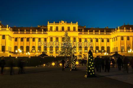 weihnachtsmarkt schloss schoenbrunn