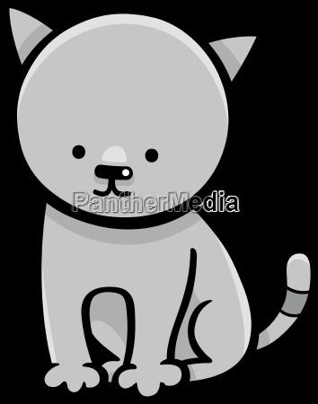 kitten cartoon character