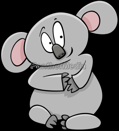 koala cartoon animal character