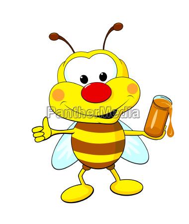 insekt honig biene imme