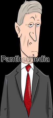 politician cartoon character