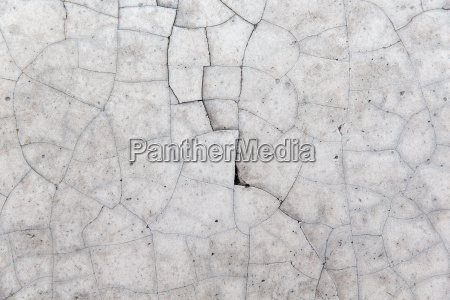 cracked gray concrete wall texture