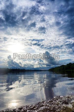 amazonian landscape view