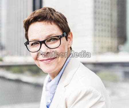 usa new york businesswoman walking in