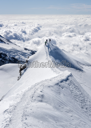 italy gressoney alps castor group of