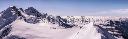italy gressoney alps castor and lyskamm