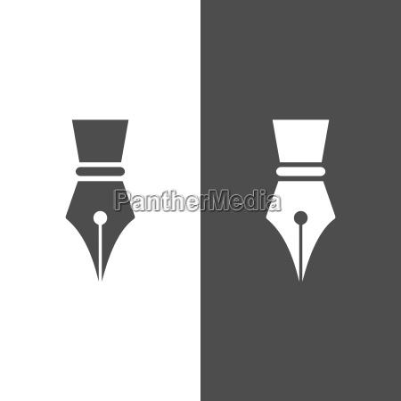 fontain pen icon