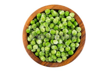 gruene gefrorene erbsen